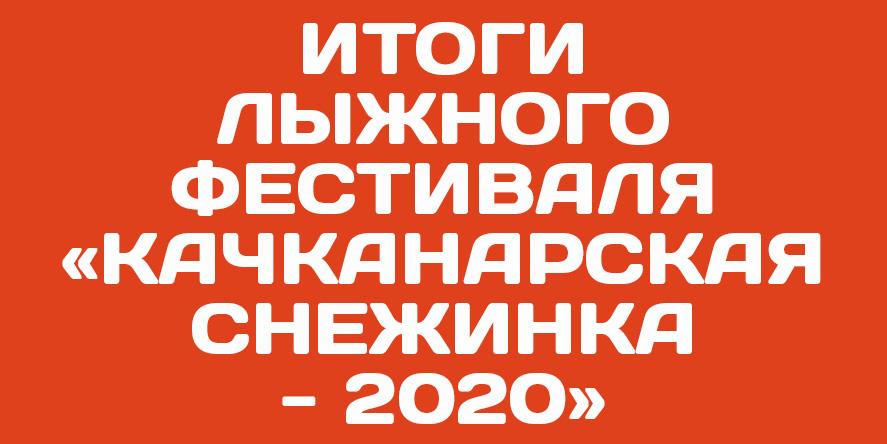 Итоги лыжного фестиваля «Качканарская снежинка — 2020»